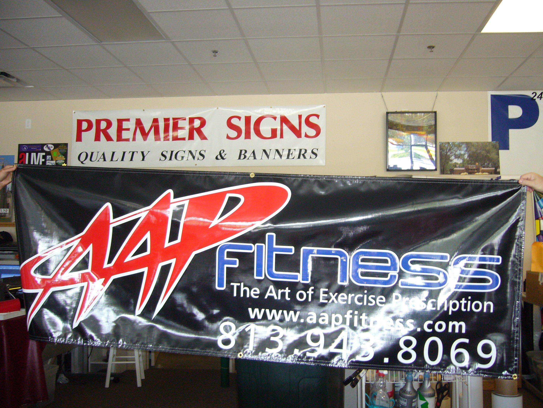APP Black Banner