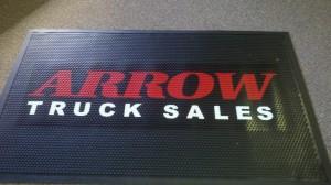 Arrow mat