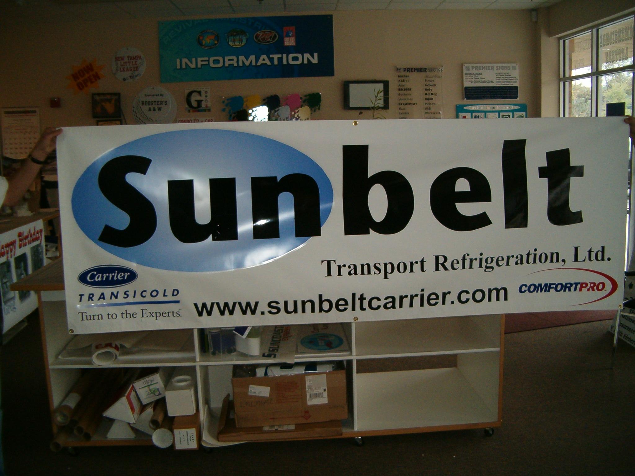 Sunbelt banner