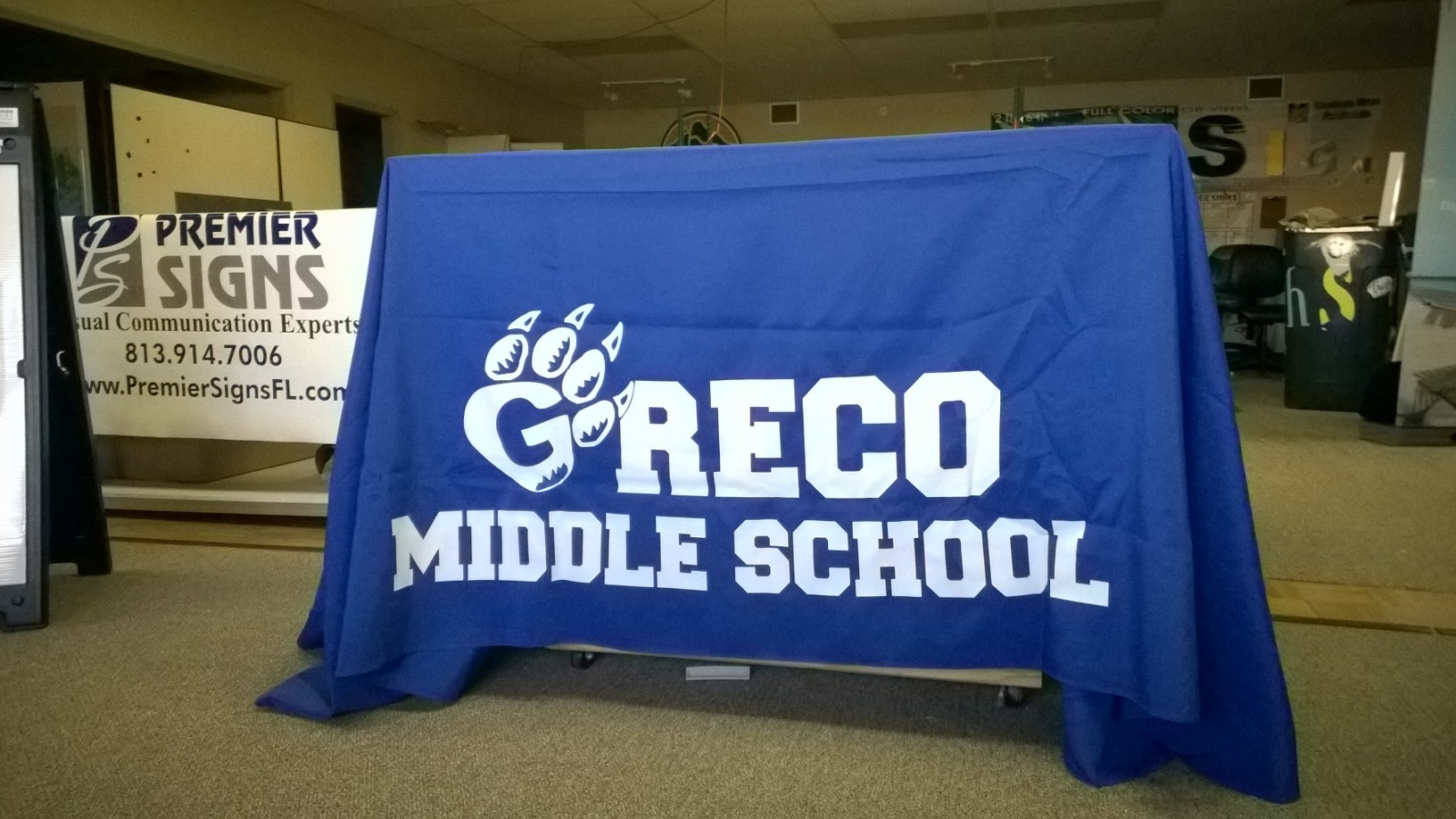 Greco table cloth