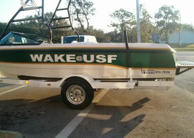 USF Wake Boat