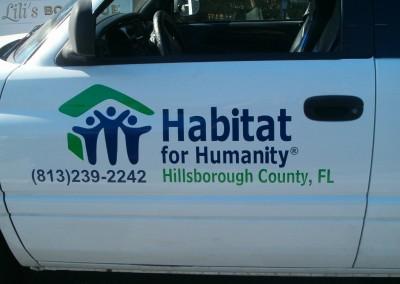 Habitat Driver Door