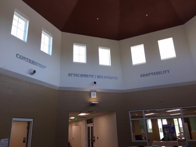 Tampa,Fl: Trinity School's Indoor Acrylic Wall Signs Send Message