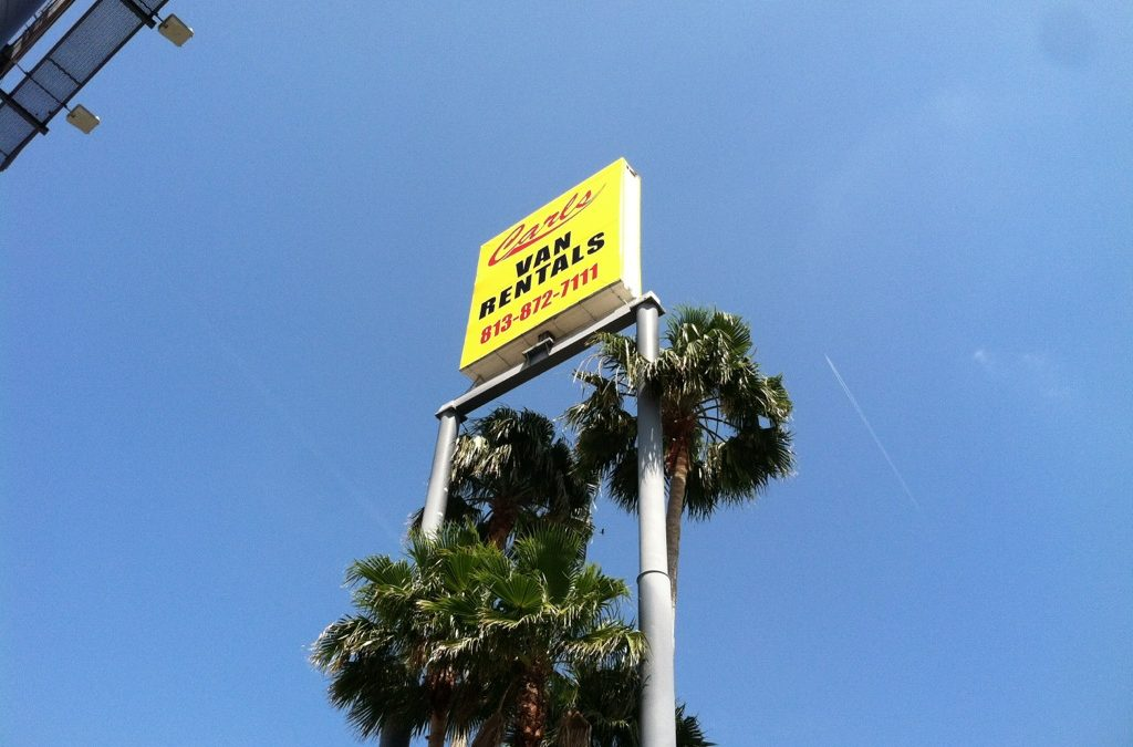 Tampa, Florida- Custom Signs for Indoor and Outdoor Business Spaces