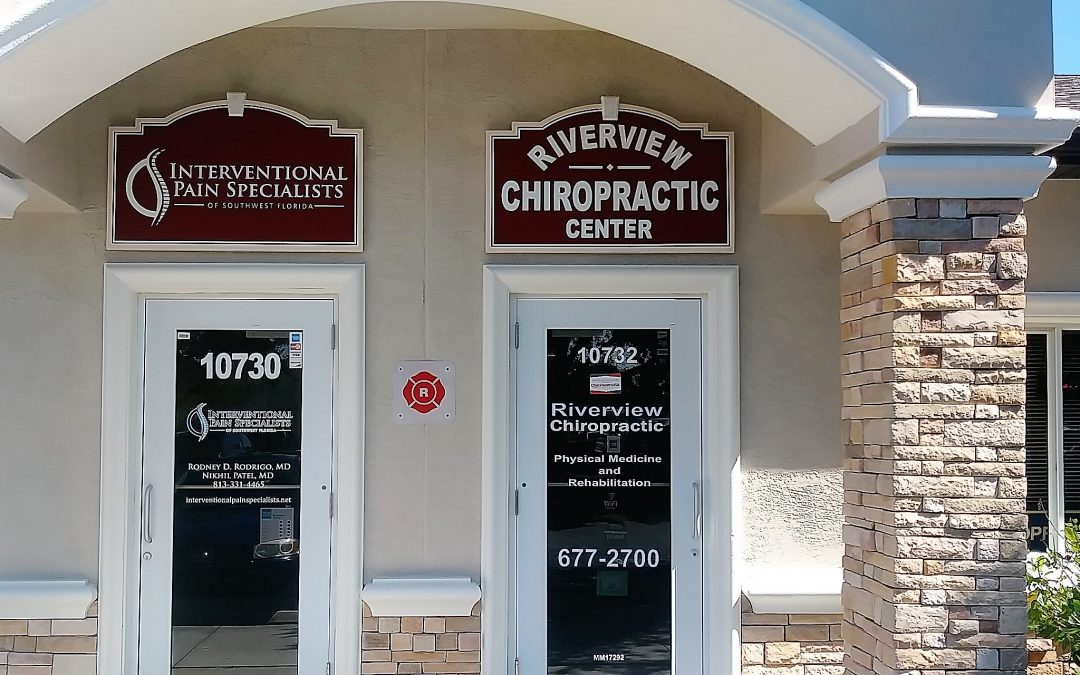 Tampa, FL-Business Park's Outdoor Building Wall Signs