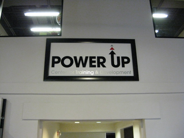 Banner Frames in Tampa, FL for Power Up