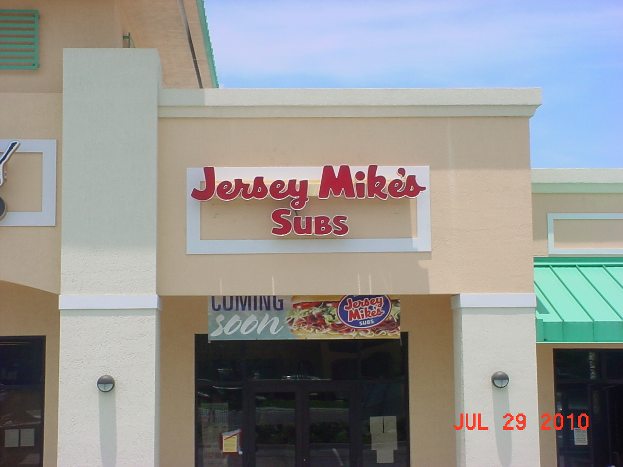 Jersey Mikes Melbourne completed