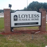 Loyless Lit Monument