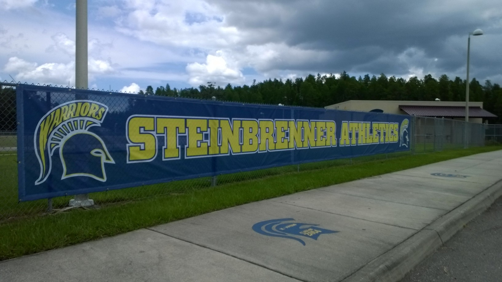 Mesh Banner in Tampa, FL for Steinbrenner High School