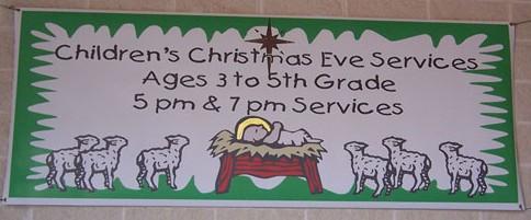 church banner