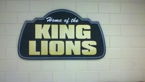 King High School lobby