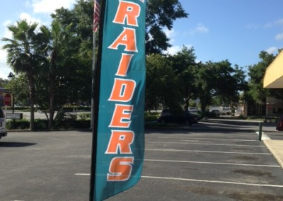 Plant City Raiders flag