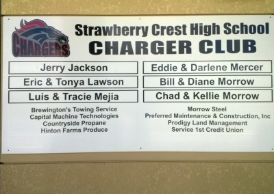 SC Charger Club dibond