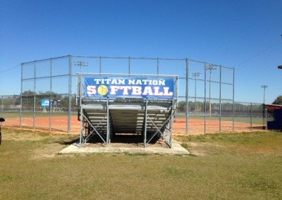 TBT Titan Nation Softball mesh