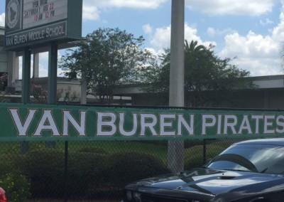 Van Buren Pirates 24x30ft