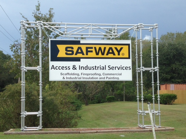 Monument Sign in Tampa, Florida for Safway