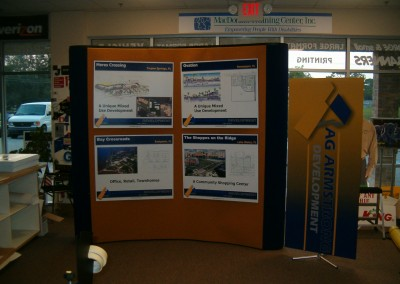 AG Trade Show Booth With Graphics