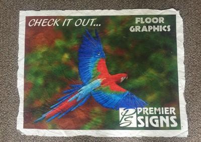 floor graphic