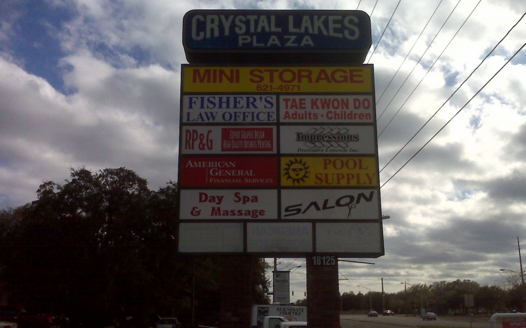 Pylon Signs in Hillsborough County, for Multiple Businesses