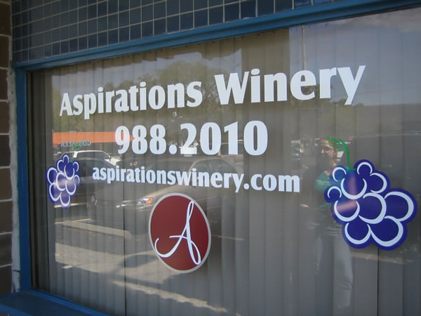 Window Signs and Vinyl Graphics in Tampa, FL for Multiple Businesses