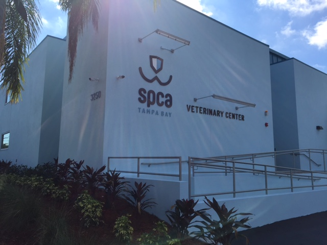 SPCA of Tampa Bay Gets New Exterior Building Signs