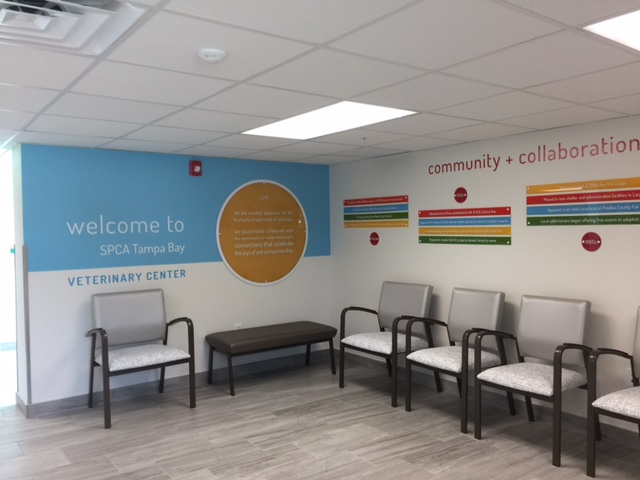 Interior Lobby and Office Signs Complete SPCA of Tampa