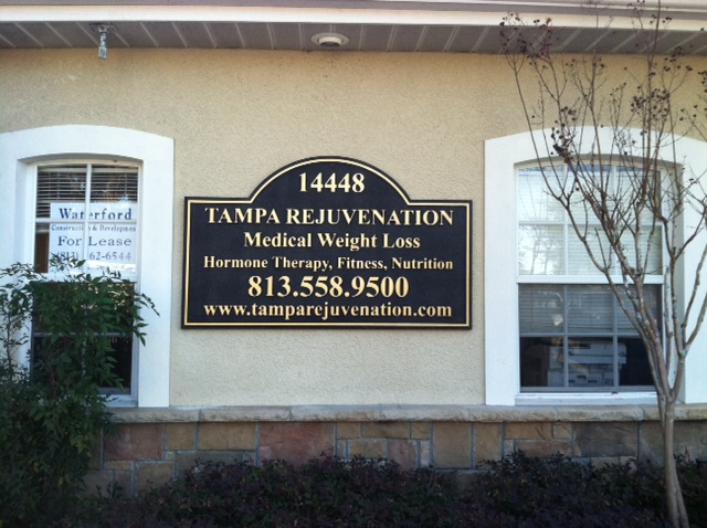 "Quality Sandblasted Signs Give Tampa Medical Offices a ""Booster"""