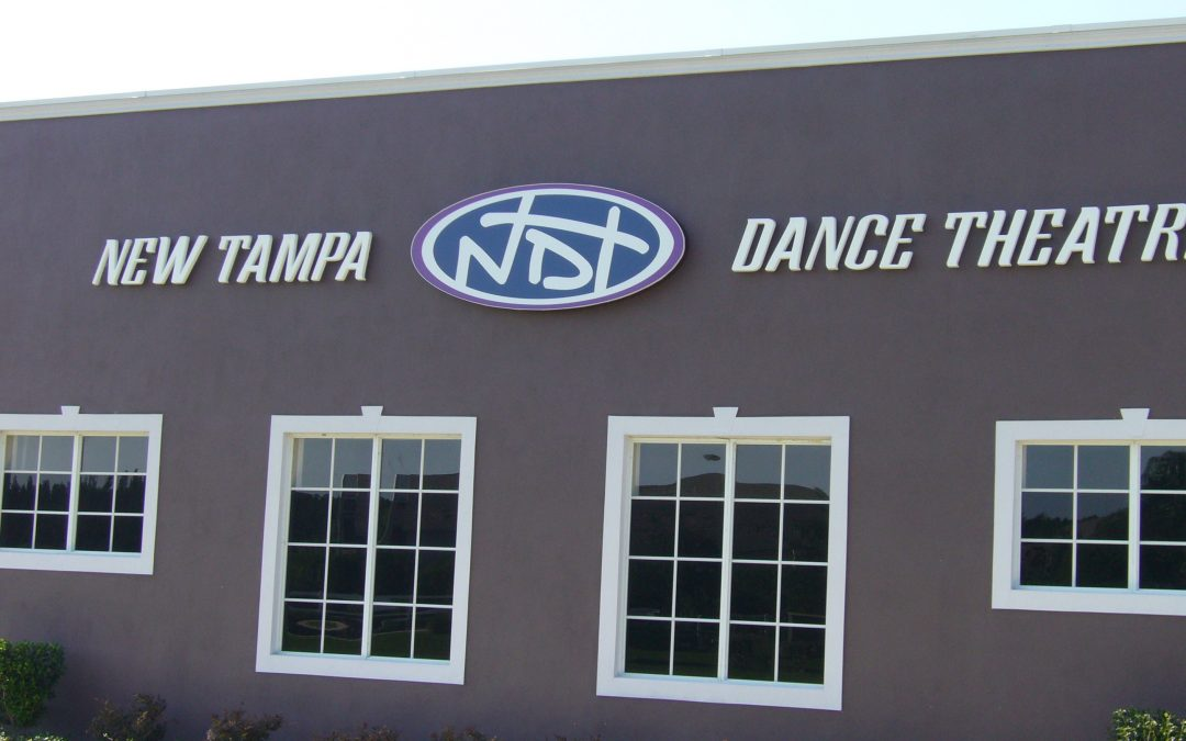 Exterior Building Sign Package:Tampa Triple Outdoor Punch