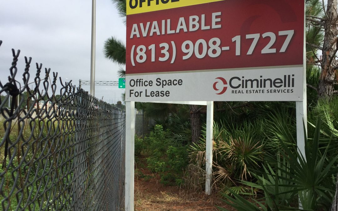 Tampa,FL- Outdoor Property,Commercial Real Estate Signs