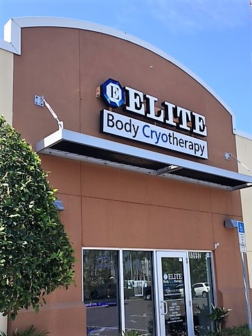 Tampa Bay's Elite Body Cryotherapy- Outdoor Channel Letter & Can Sign