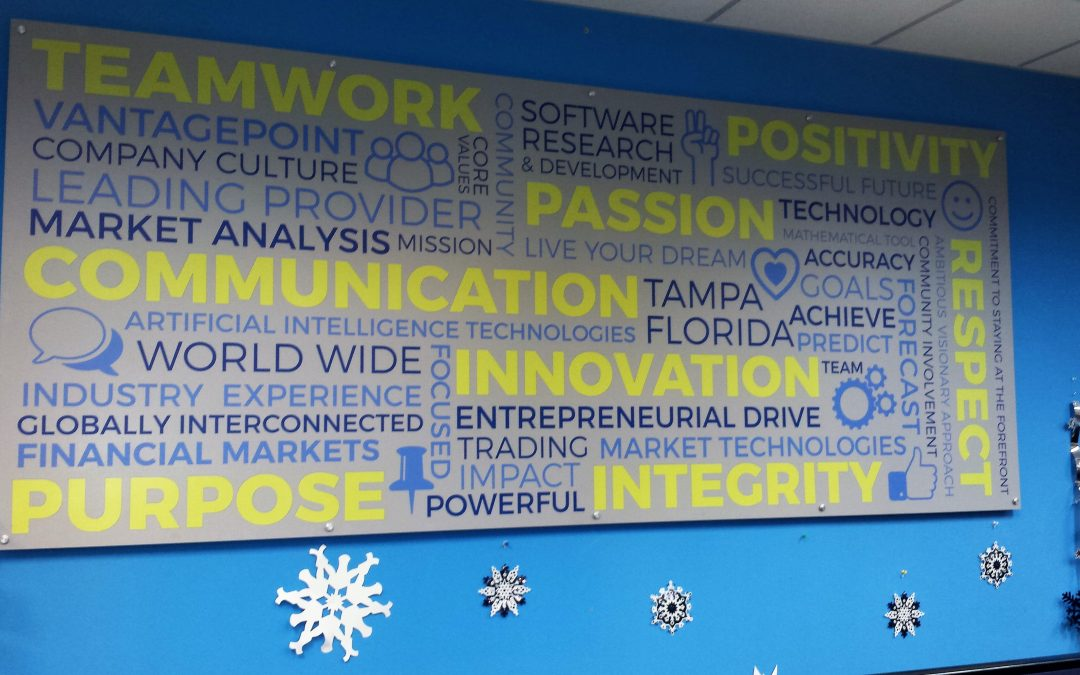 Wesley Chapel, FL- Interior Workplace Signs