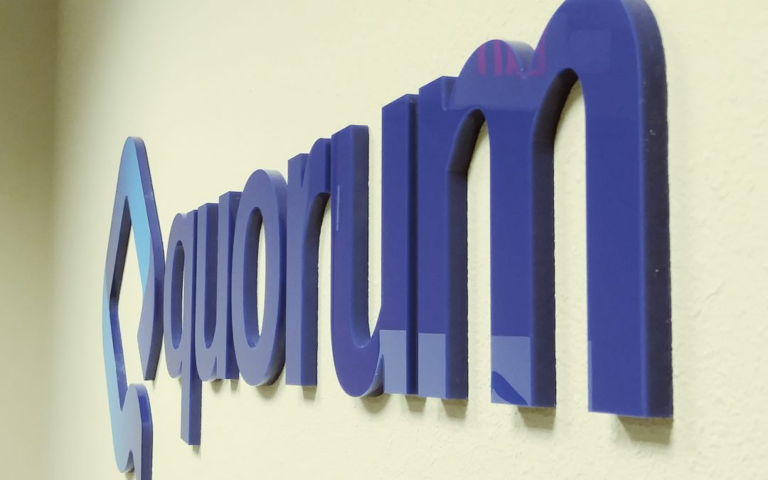 Tampa,FL – Indoor Lobby Signs- Digital Print Acrylic, Brushed Aluminum