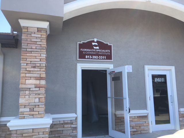Exterior Office Signs Tampa, FL- Sandblasted and Routed Signs