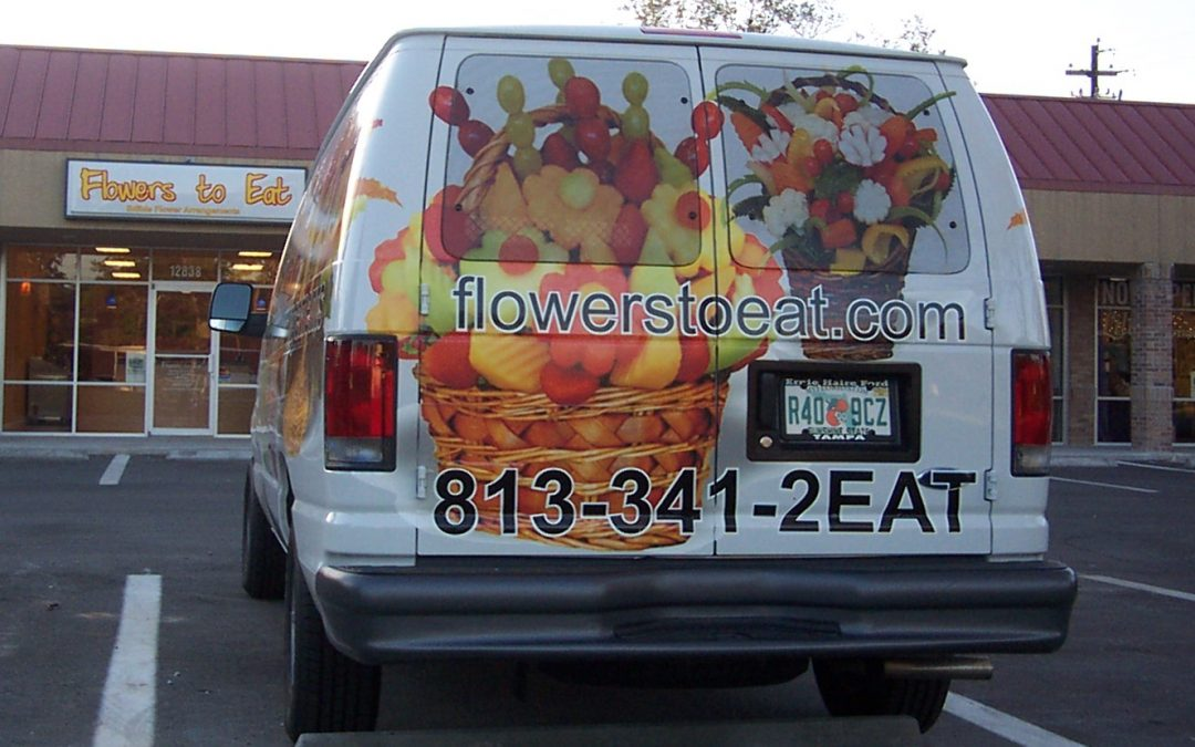 Tampa, Fl Commercial Autos,Trucks,Vans- Lettering to Wraps
