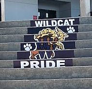 Outdoor Wall Signs Add Spirit at Wharton High School-Tampa, FL