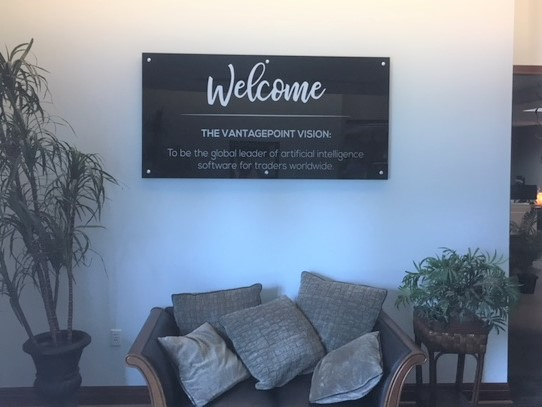 Tampa, Fl- Custom Interior Office- Lobby Wall Signs