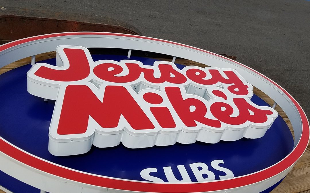 Lakeland, FL- Jersey Mike's Subs Restaurant Exterior Channel Letter and Can Signs
