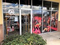 Tampa, FL- New Fitness Store Gets Exterior Wall, Window Signs