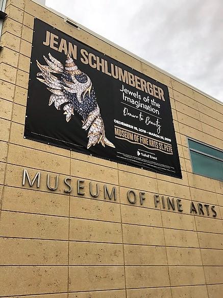 St Pete, FL- MFA's New Exhibit Indoor, Outdoor Banners