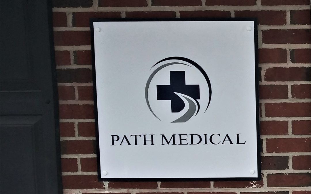 Brandon, FL- Path Medical Exterior Monument, Entrance Sign