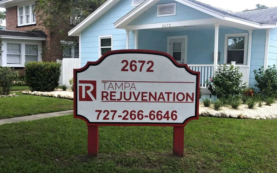 Tampa, St Pete, Pinellas Park- Sandblasted Monument Signs