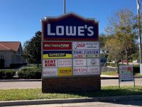 Riverview, FL – Updated Acrylic Sign Business Monument