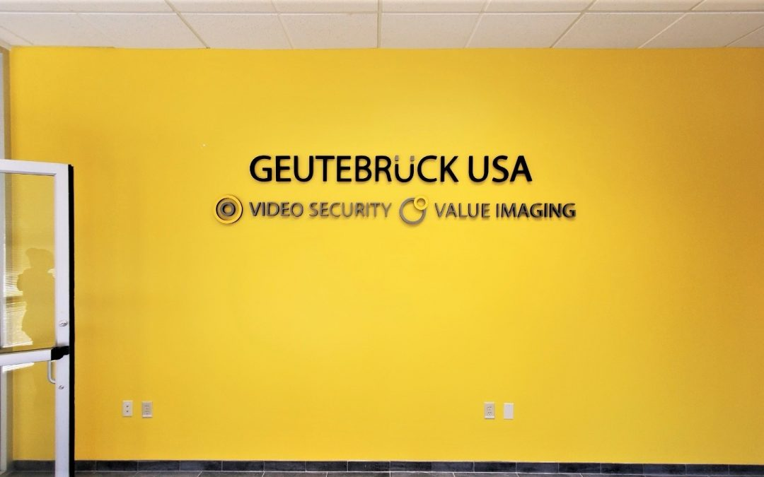 Tampa, FL – Interior Office Sign Installed with Acrylic Letters