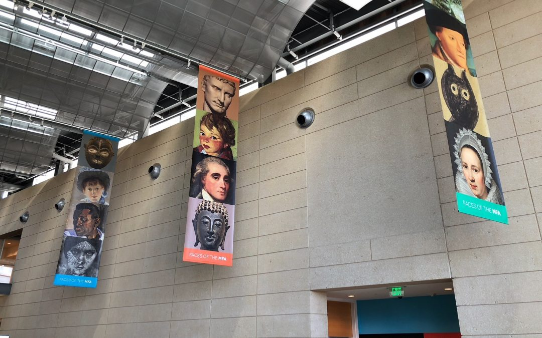 St Petersburg, FL- MFA's New Interior and Exterior Banner Signs